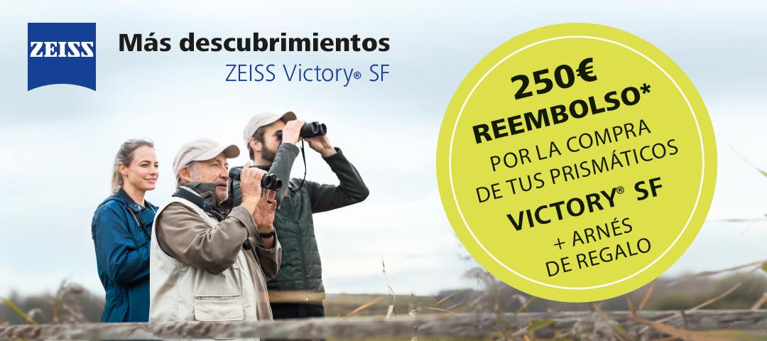 Promoción Cashback ZEISS Victory SF para profesionales